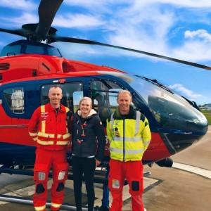 Devon Air Ambulance celebates exemplary service