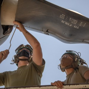 Specialized Navy Sailors Deployed with Marine Squadron ahead of V-22 Transition