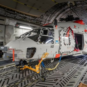 Royal Netherlands Air Force sends replacement NH90 to Curacao