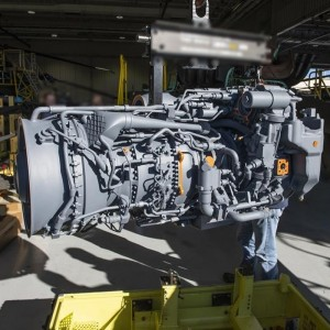 GE T901 engine ahead of schedule