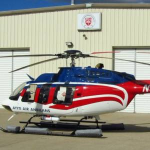 PAC International upgrades Bell 407 for Haiti Air Ambulance