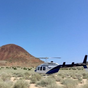 BAC Helicopters helps fight locust swarms in Kenya