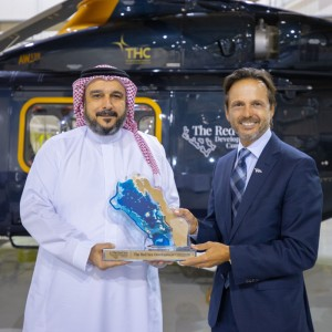 THC wins AW139 contract from Red Sea Development Company
