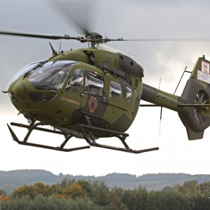 The Ecuadorian Air Force takes delivery of their first two H145s