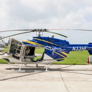 Arrow Aviation Completes First Single Pilot IFR Bell 407 for HEMS Service