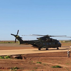 British military Joint Helicopter Command sustain airpower operation in Mali