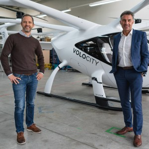 Volocopter and Lufthansa Industry Solutions cooperate to build VoloIQ