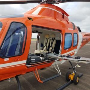 AMS Heli Design receives FAA STC for ALSS interior