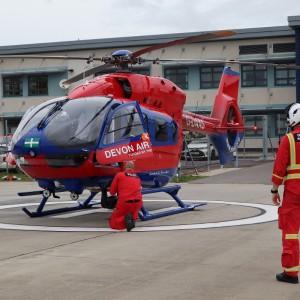 Devon Air Ambulance puts H145 into service