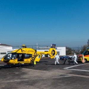 ADAC air rescue prepared for the second wave of COVID-19
