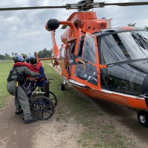 USCG  provides humanitarian assistance to Honduras after Hurricane Eta