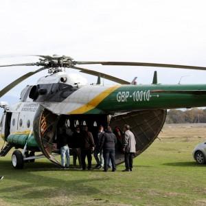 Georgia Border Police restore weekly Mi-8 flights to Tusheti