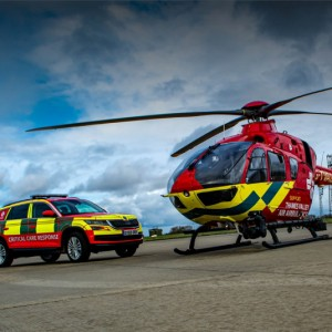 Thames Valley Air Ambulance buy new helmets
