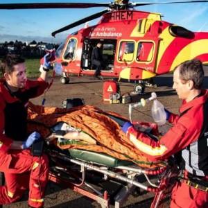 Essex & Herts Air Ambulance reaches blood milestone
