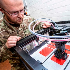 RAF Odiham Engineers use 3D Printing to Improve Chinook Force Safety
