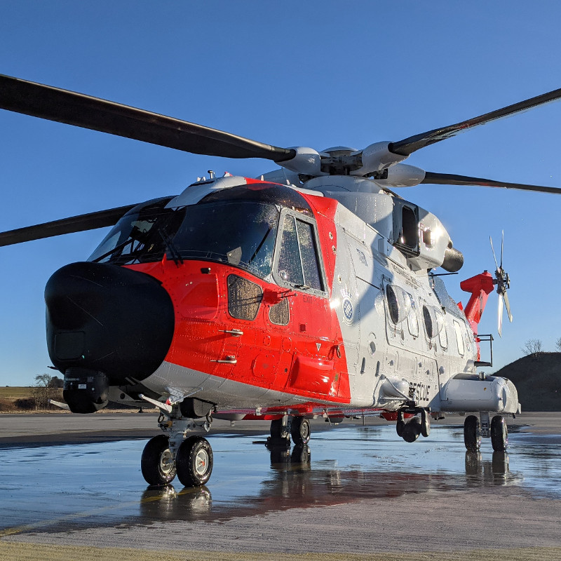10th AW101 AWSAR successfully delivered to Norway