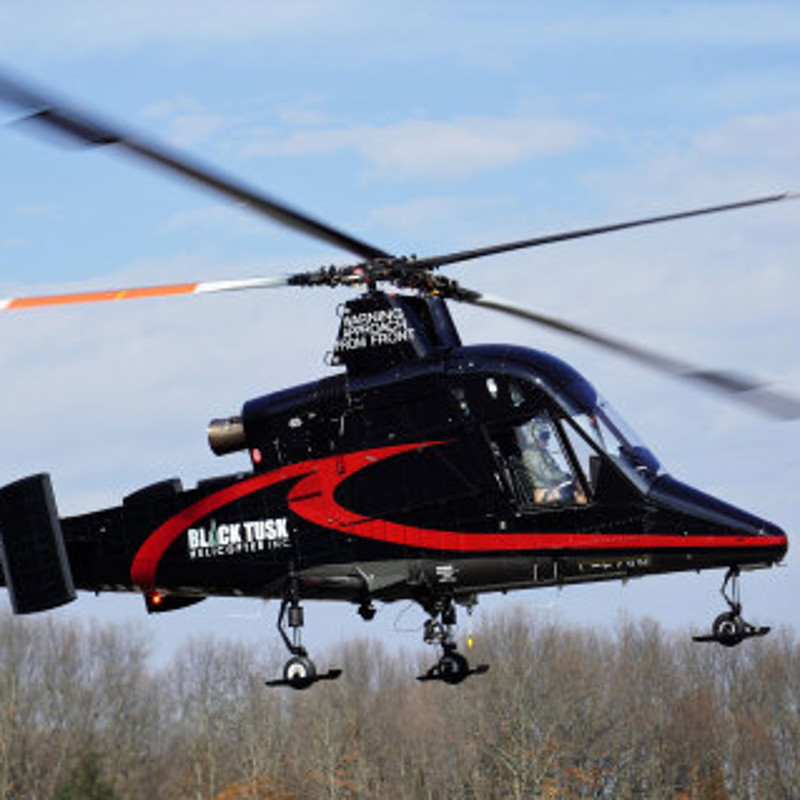 Kaman Delivers New K-MAX® to Black Tusk Helicopter