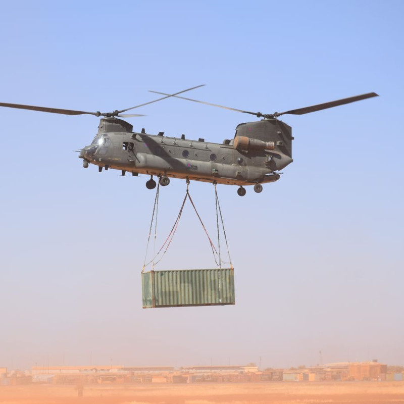New Commander for RAF Chinook detachment in Mali