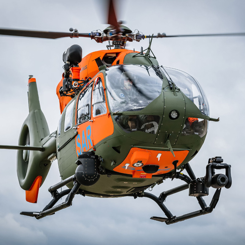 Airbus delivers seventh H145 for the German Armed Forces' SAR service