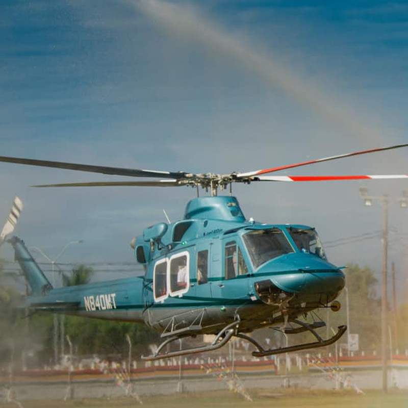 Guyana Defence Force receive a new Bell 412EPI
