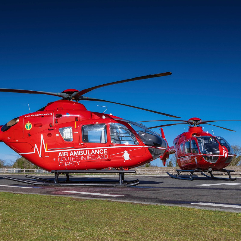 Air Ambulance Northern Ireland gets £1 Million boost