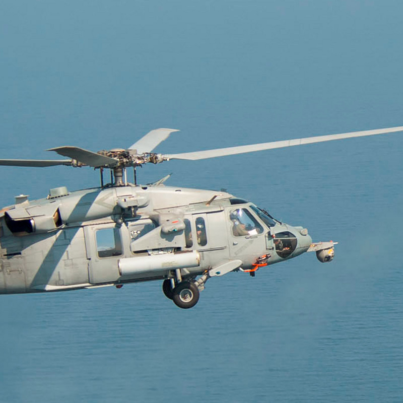 US Navy Recovers MH-60S from Record Depth