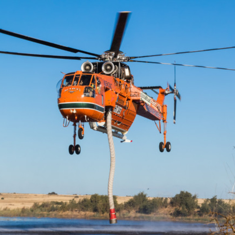 Erickson wins three USFS 2021 fire contracts