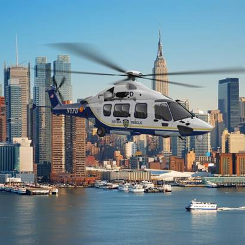 Airbus bids H175 for NYPD two-ship SAR requirement