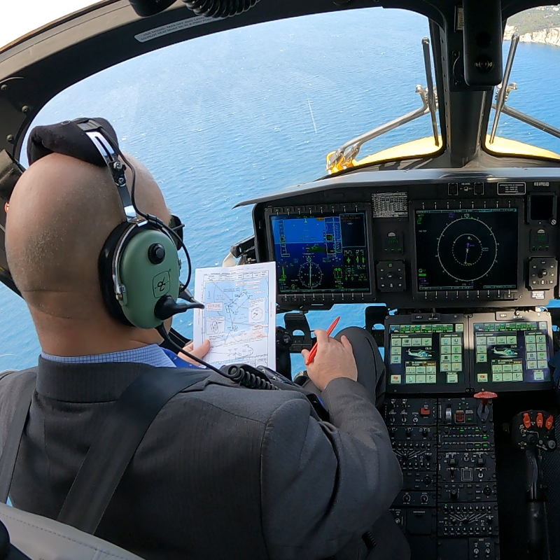 ENAV and Leonardo launch first satellite navigation procedures for helicopters