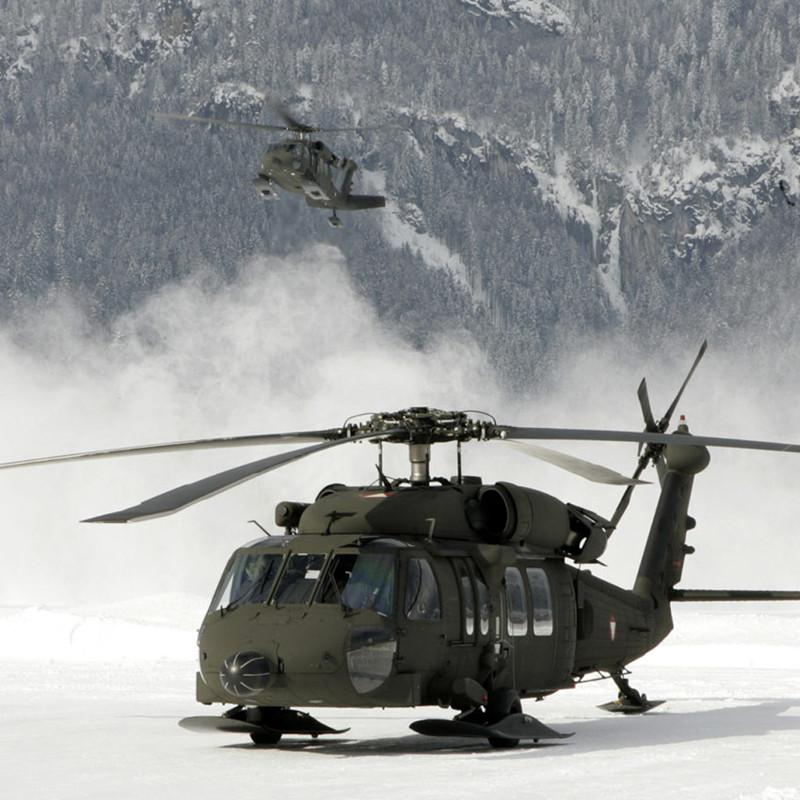 Ace Aero flight deck approved for Austrian Black Hawks