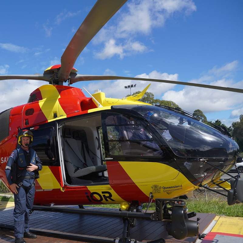 Surf Life Saving Queensland upgrades Carrara base from Bo105 to EC135