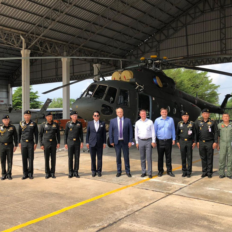 Thailand takes delivery of three more Mi-17V-5 helicopters