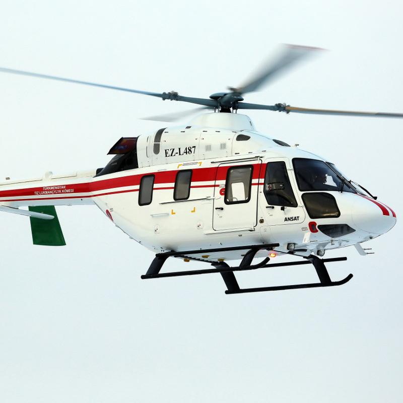 Rostec delivered Ansat and Mi-17-1V to Turkmenistan