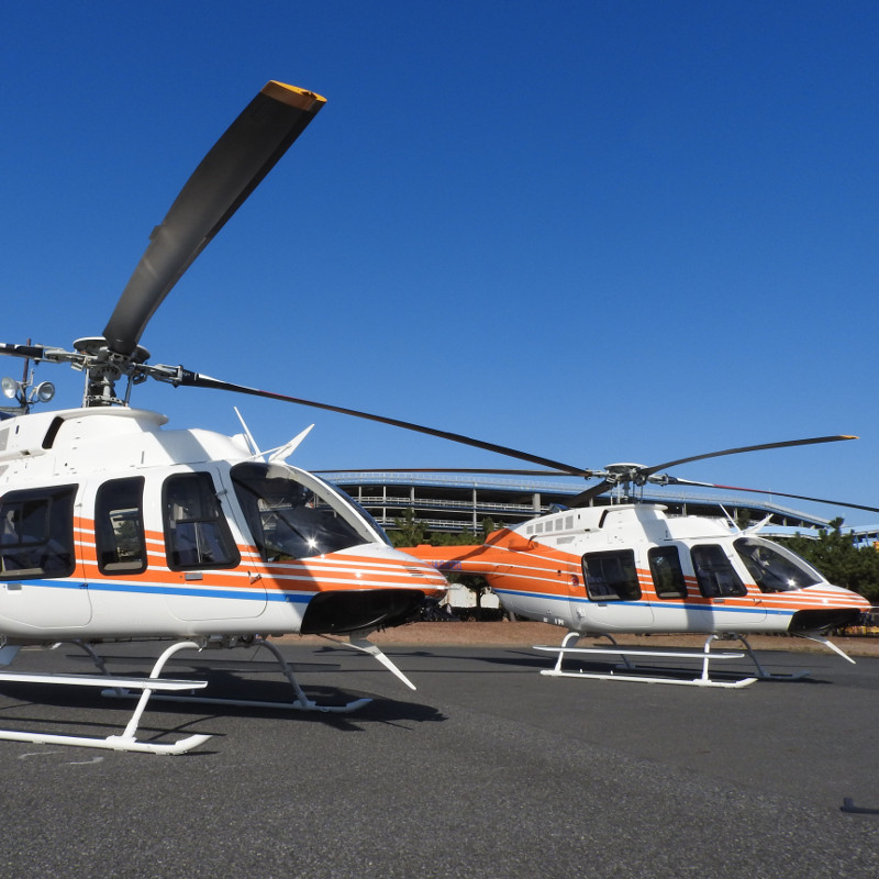 First Two Bell 407GXi Delivered in Japan