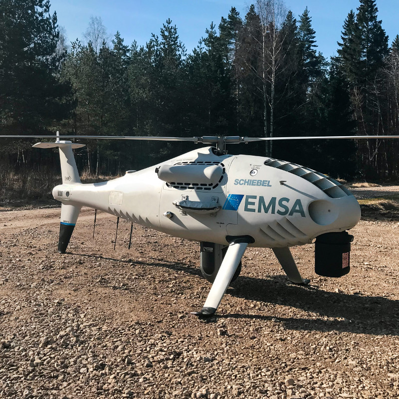 Schiebel Camcopter S-100 performs maritime surveillance in Estonia