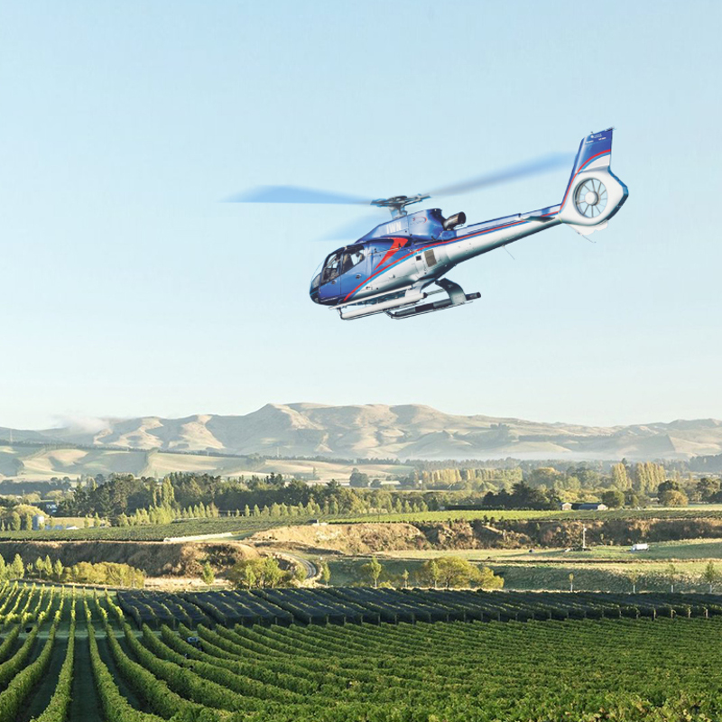 GCH Aviation launches Heli Wine Tour to North Canterbury
