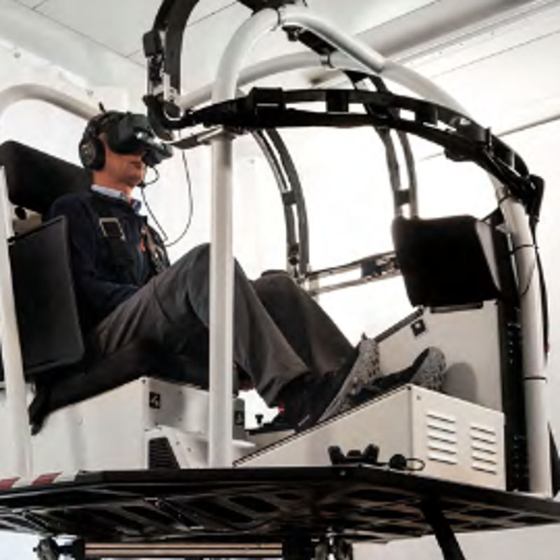 World's first qualified Virtual Reality Training Device
