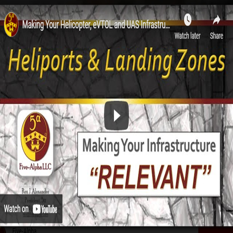 Five-Alpha publishes Heliport Database Accountability Training Video