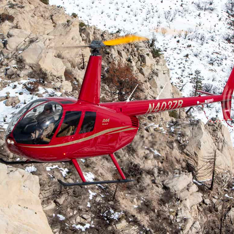 Robinson Delivers 13,000th Helicopter