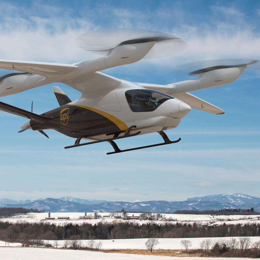 UPS plans purchase of ten eVTOL with 1400lb cargo capacity