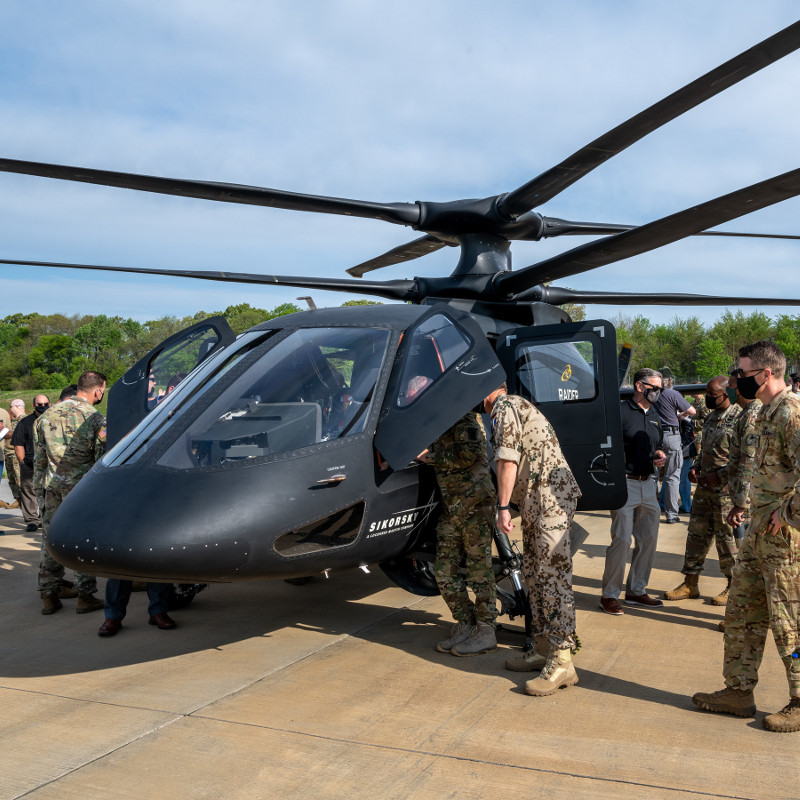 Sikorsky demos S-97 Raider for Future Vertical Lift program