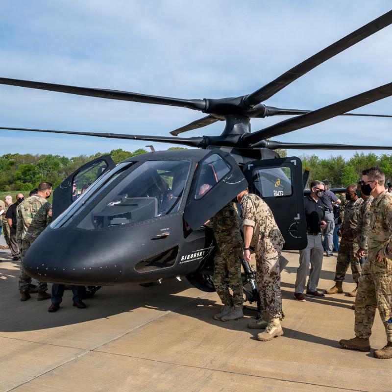 Sikorsky demos S-97 Raider for Future Vertical Lift program