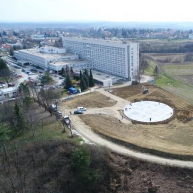 US Army builds hospital helipads in Croatia