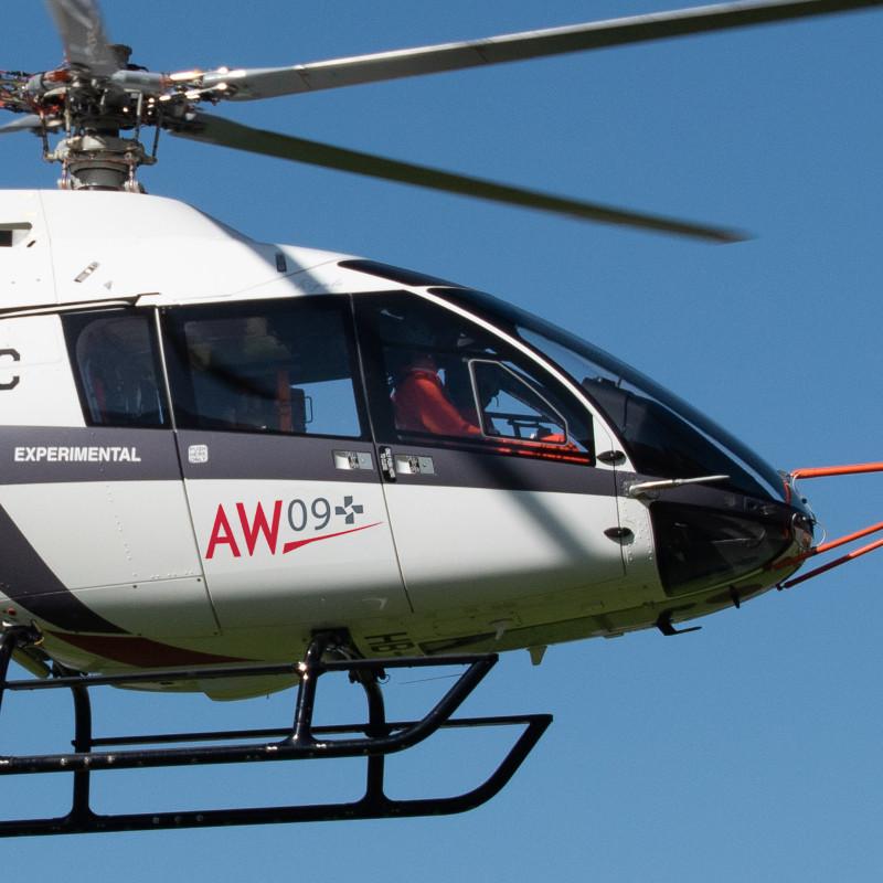 Leonardo puts its stamp on Kopter – SH09 renamed AW09