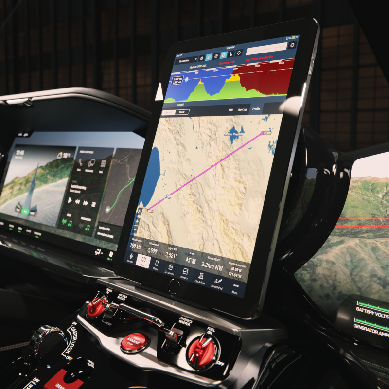 Hill Helicopters unveils digital glass cockpit for the HX50