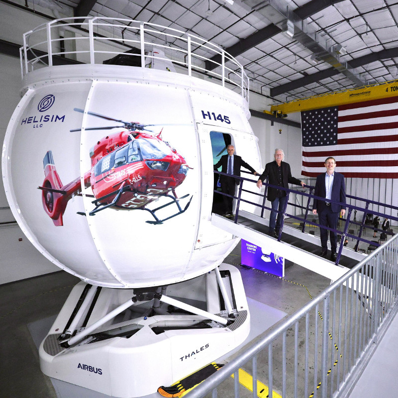 First H145 Full Flight Simulator in North America inaugurated in Texas