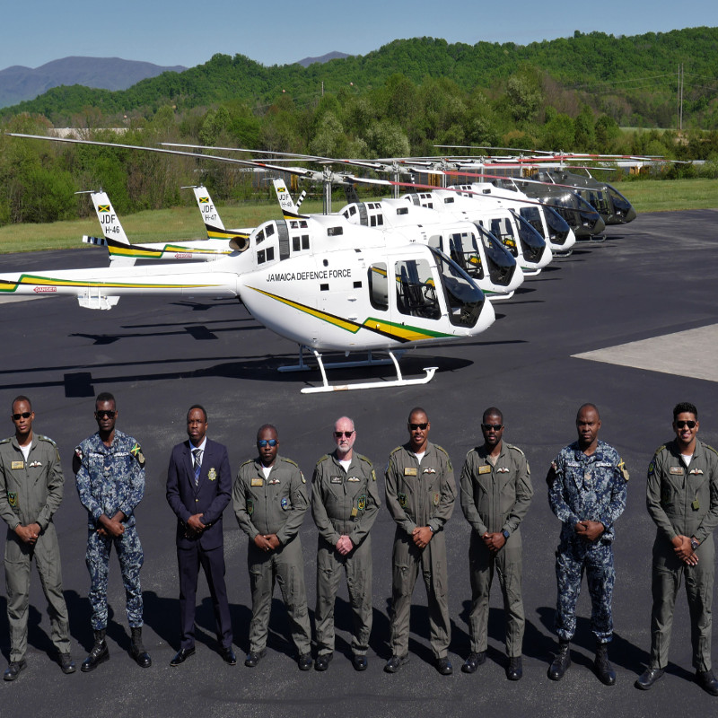 Bell delivers 300th 505 Jet Ranger X
