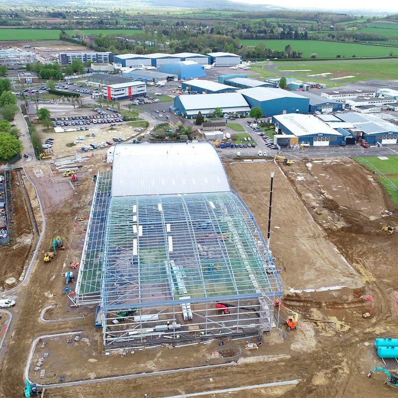 London Oxford Airport expansion includes 7 helipads