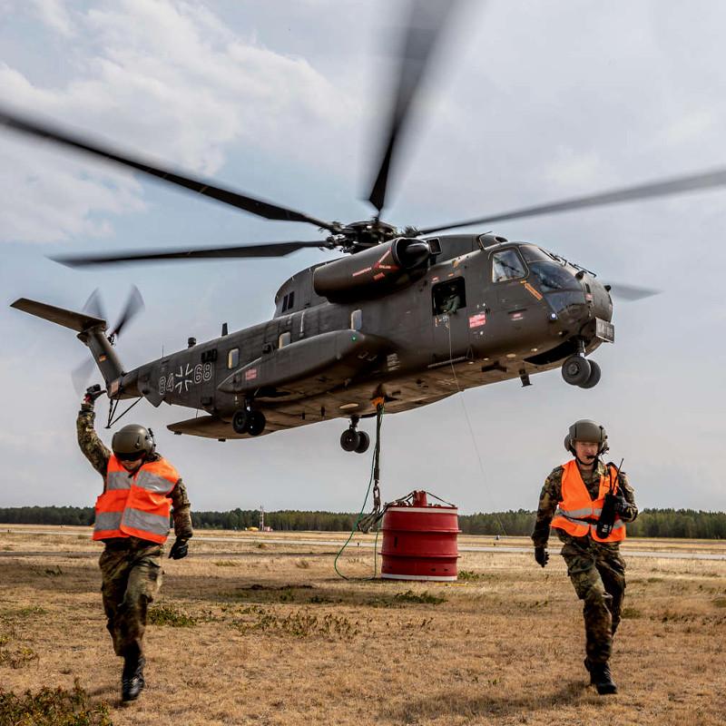 Rheinmetall starts maintenance on German Air Force CH-53G fleet