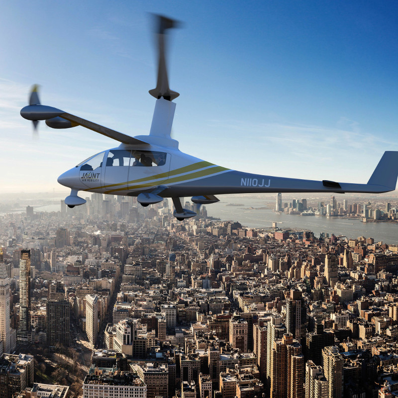 Jaunt Air Mobility to open design and manufacturing operations in Canada